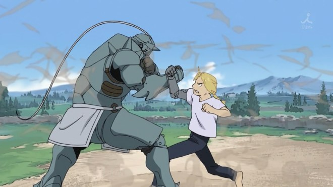 The Elric Brothers spar!