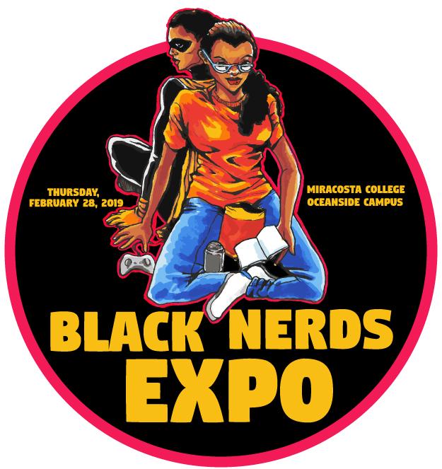 Black Nerds Expo logo